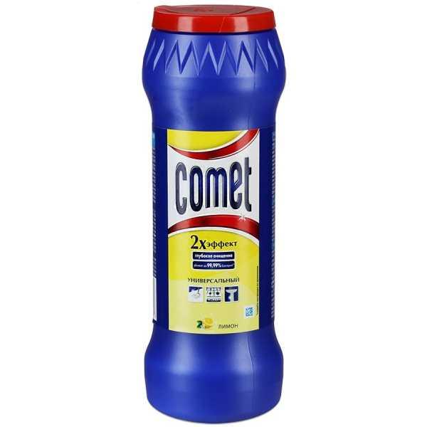 """Порошок чистящий Comet """"Лимон"""", универсальный, 475 гр"""