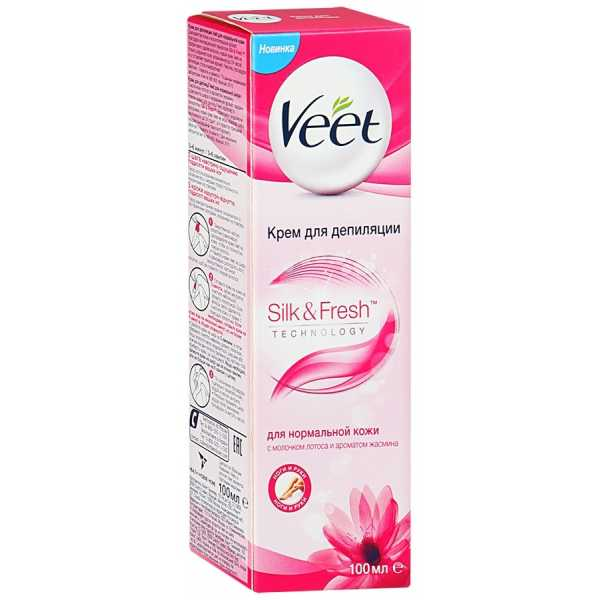 Крем для депиляции Veet для нормальной кожи, 100 мл