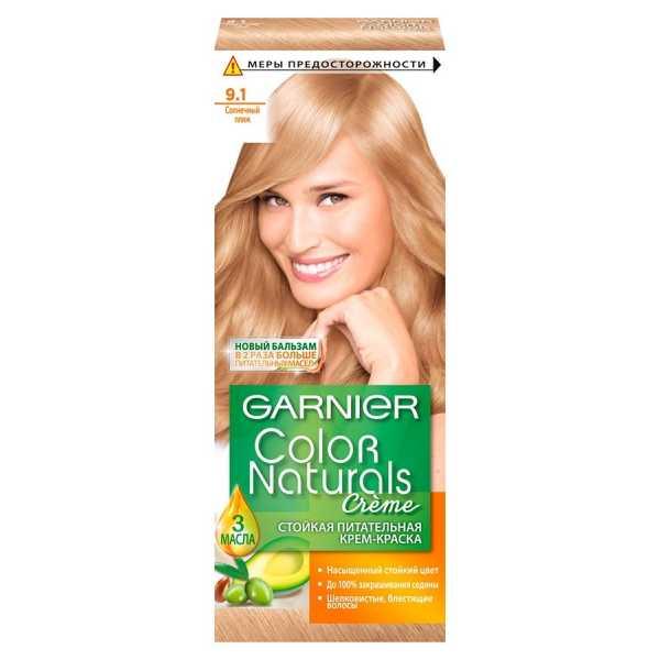 """Краска для волос Garnier Color Naturals 9.1 """"Солнечный пляж"""""""