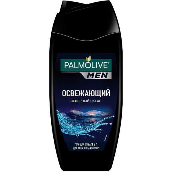"""Гель для душа Palmolive Men 3в1 """"Северный океан"""", 250 мл"""