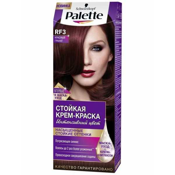 """Краска для волос Palette RF3 """"Красный гранат"""", 50 мл"""