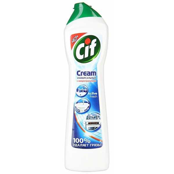 """Крем чистящий Cif """"ActiveFresh"""", 500 мл"""