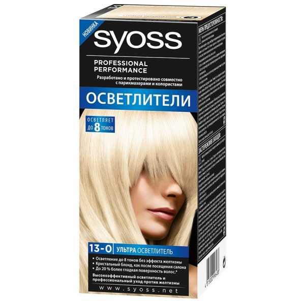 """Краска для волос Syoss Color 13-0 """"Ультра осветлитель"""", 115 мл"""