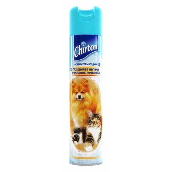 Освежитель воздуха Chirton устраняет запахи домашних животных, 300 мл