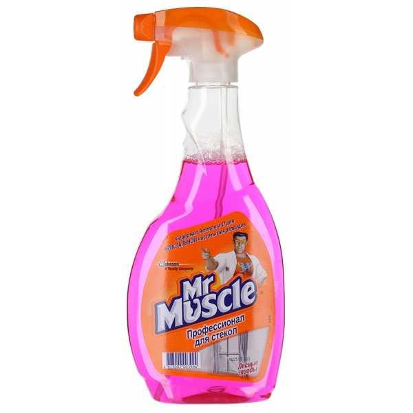 "Средство Mr Muscle для стекол ""Лесные ягоды"", спрей, 500 мл"