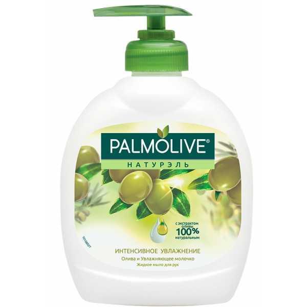 """Жидкое мыло Palmolive Натурэль """"Интенсивное Увлажнение"""" Олива и Увлажняющее молочко, 300 мл"""