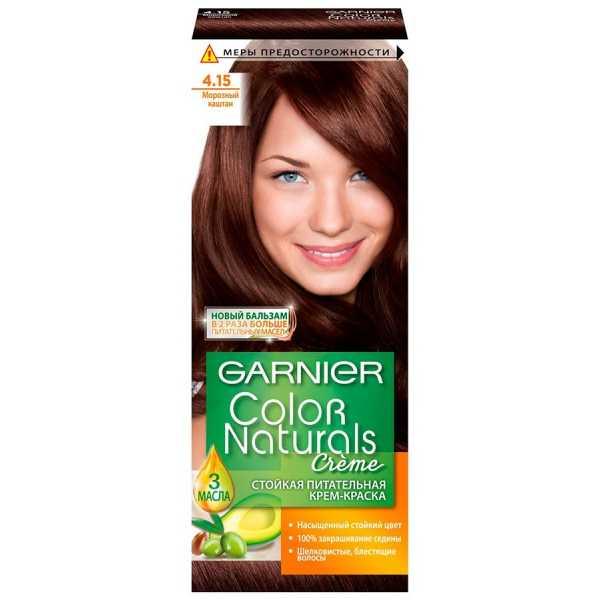 """Краска для волос Garnier Color Naturals 4.15  """"Морозный каштан"""""""