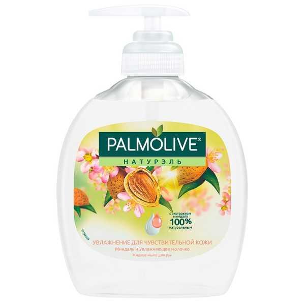 """Жидкое мыло Palmolive Натурэль """"Увлажнение для чувствительной кожи"""" Миндаль и Увлажняющее молочко, 300 мл"""