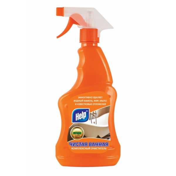 Чистящее средство для ванны «HELP», Чистая Ванная, 500 мл