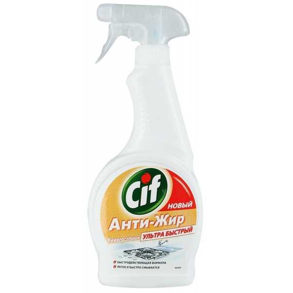 """Средство CIF чистящее для кухни """"Анти-жир"""", универсальный спрей, 500 мл"""