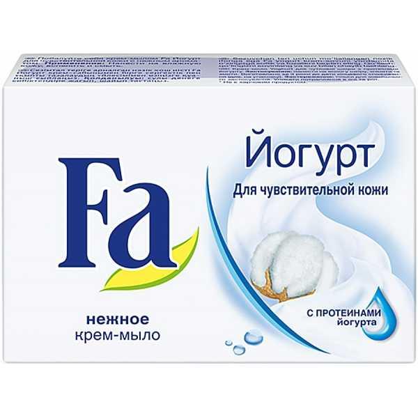 Крем-мыло Fa Yoghurt для чувствительной кожи, 90 гр