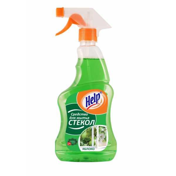 """Средство для мытья стекол Help """"Яблоко"""", 750 мл"""