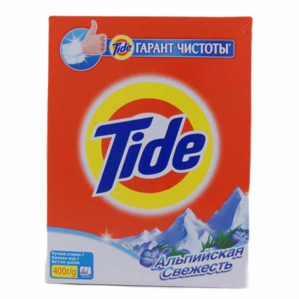 """Стиральный порошок Tide """"Альпийская свежесть"""", ручная стирка, 400 гр"""