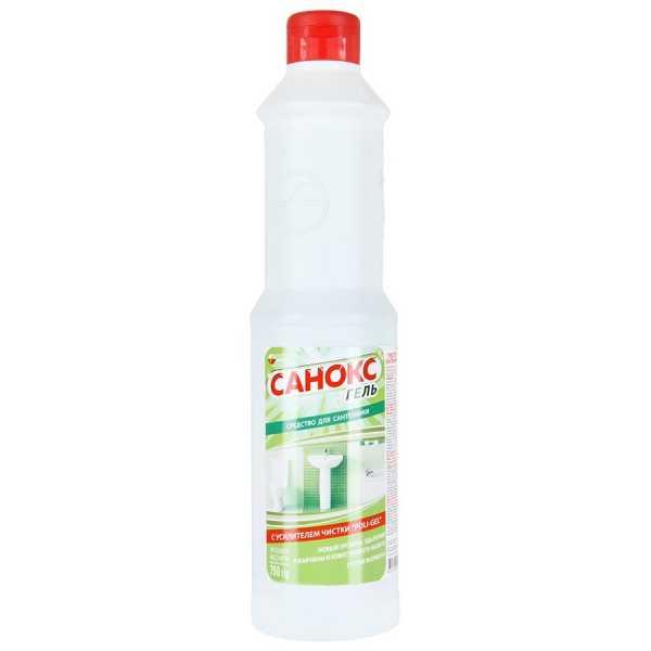 Средство чистящее для сантехники Санокс-гель, 750 мл
