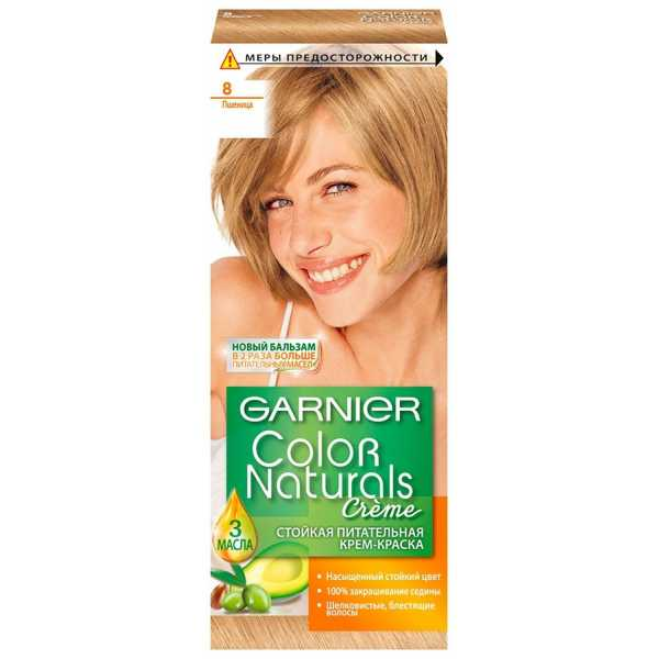 """Краска для волос Garnier Color Naturals 8  """"Пшеница"""""""