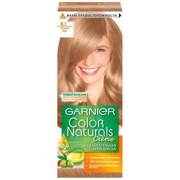 """Краска для волос Garnier Color Naturals 8.1 """"Песчаный берег"""""""
