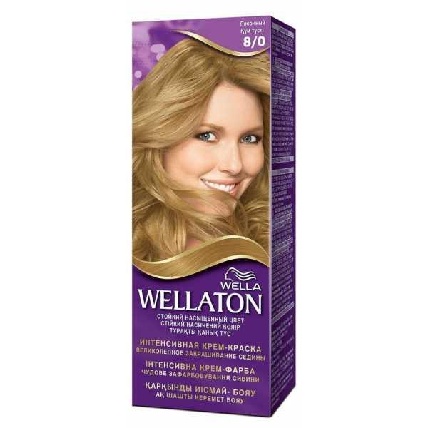 """Краска для волос Wellaton 8/0 """"Песочный"""""""