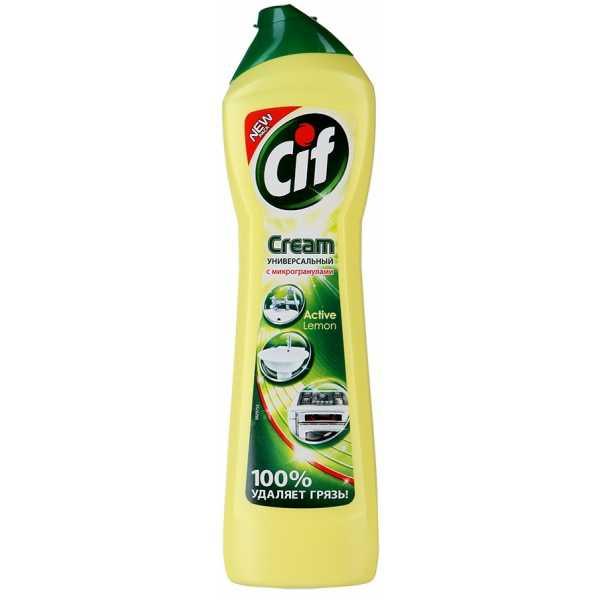 """Крем чистящий Cif Cream """"Active Lemon"""", 500 мл"""