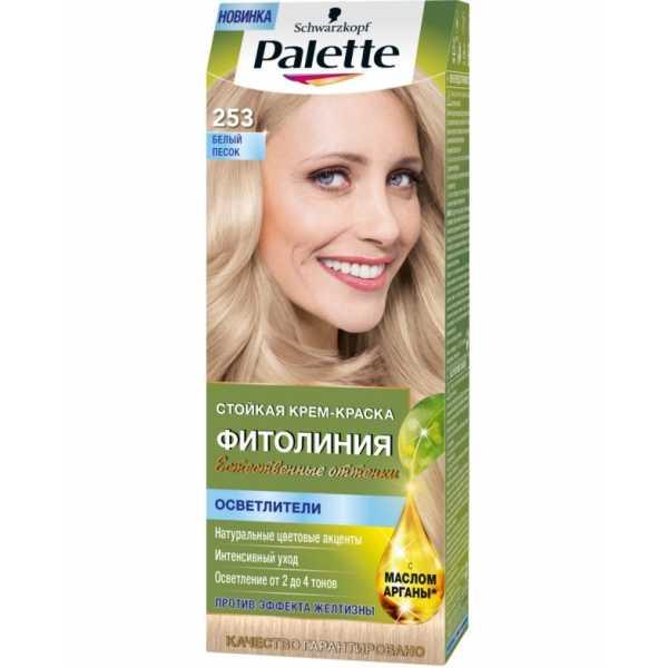 """Краска для волос Palette Фитолиния 253 """"Белый песок"""", 50 мл"""