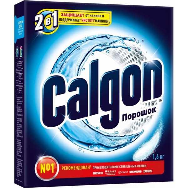 Порошок Calgon 2в1 для смягчения воды и предотвращения образования накипи, 1,6 кг
