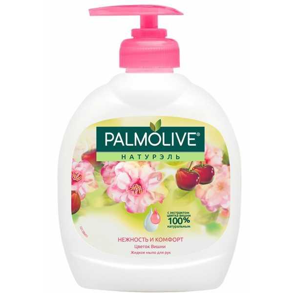 """Жидкое мыло Palmolive Натурэль """"Нежность и комфорт"""" Цветок вишни, 300 мл"""