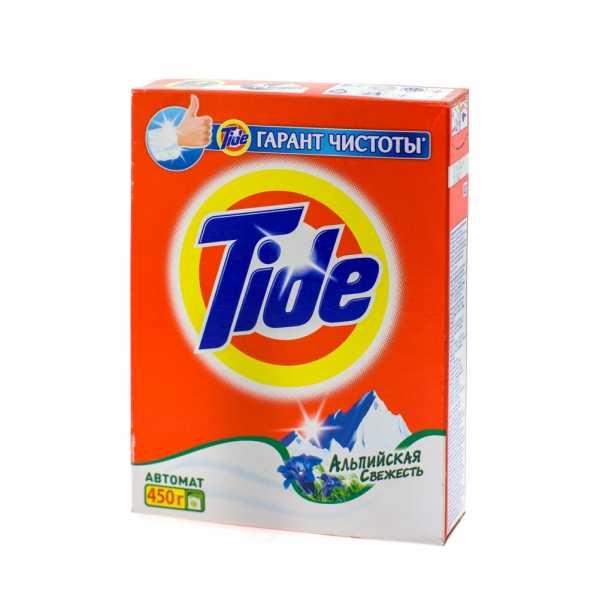 """Стиральный порошок Tide автомат """"Альпийская свежесть"""", 450 гр"""