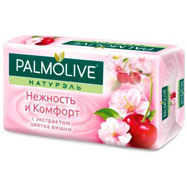 """Мыло туалетное Palmolive Натурэль """"Нежность и Комфорт"""" с экстрактом цветка вишни, 90 гр"""
