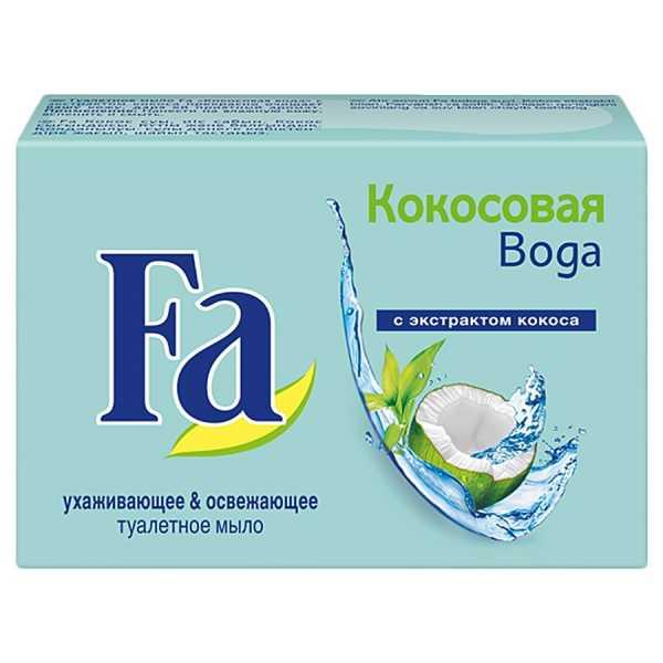 """Туалетное мыло Fa """"Кокосовая вода"""", 90 гр"""