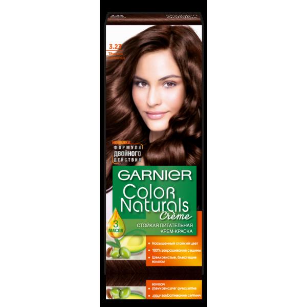 """Краска для волос Garnier Color Naturals 3.23 """"Темный шоколад"""""""
