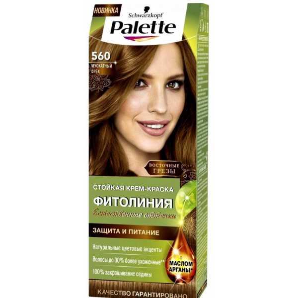 """Краска для волос Palette Фитолиния 560 """"Мускатный орех"""", 50 мл"""