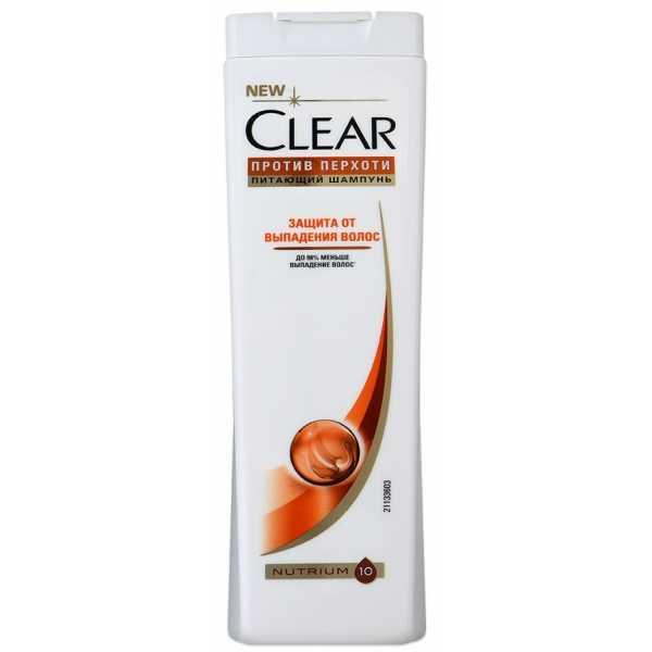 """Шампунь Clear """"Защита от выпадения волос"""", для женщин, 400 мл"""