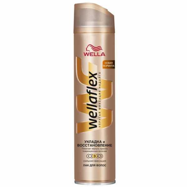 Лак для волос Wellaflex, Укладка и восстановление, 250 мл