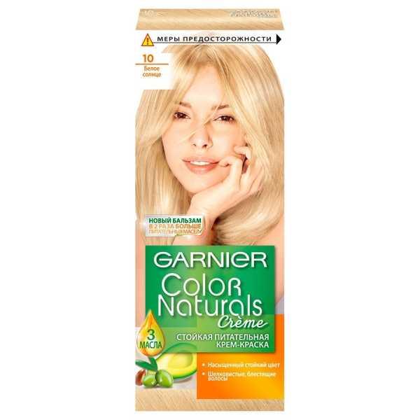 """Краска для волос Garnier Color Naturals 10 """"Белое солнце"""""""