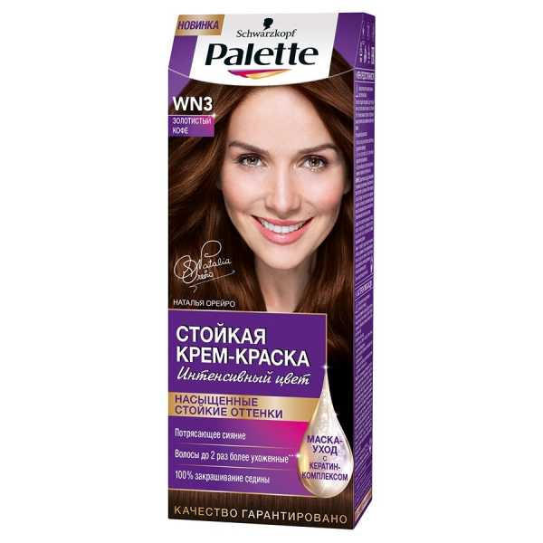 "Краска для волос Palette WN3 ""Золотистый кофе"", 50 мл"