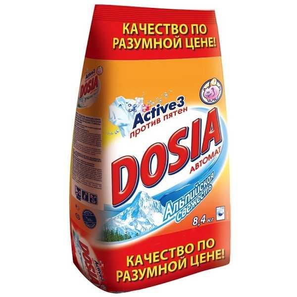 """Стиральный порошок Dosia """"Альпийская свежесть"""" автомат, 8,4 кг"""