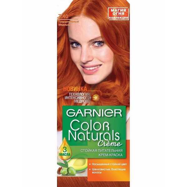 """Краска для волос Garnier Color Naturals 7.40 """"Пленительный медный"""""""