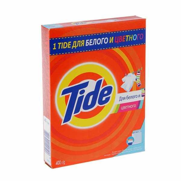 """Стиральный порошок Tide """"Для белого и цветного"""", ручная стирка, 400 гр"""