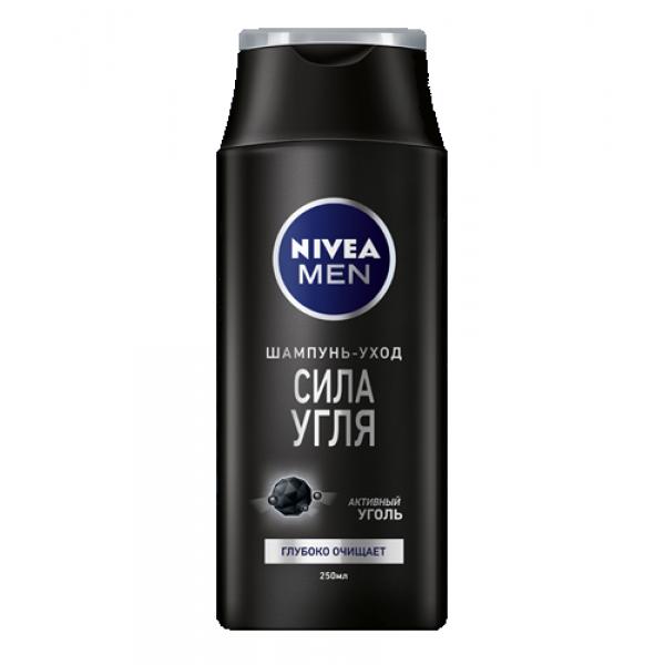 """Шампунь Nivea Men """"Сила угля"""", 250 мл"""