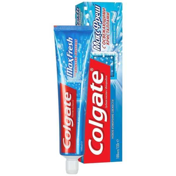 """Зубная паста Colgate Макс Фреш """"Взрывная мята"""", 100 мл"""