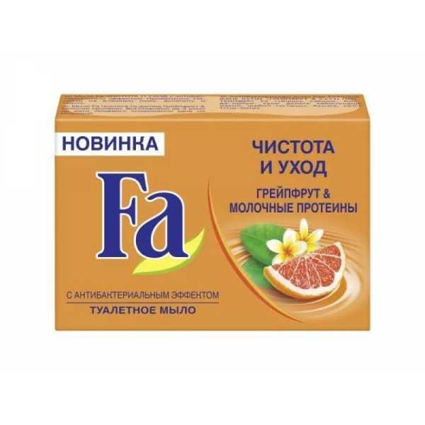 """Туалетное мыло Fa """"Грейпфрут & молочные протеины"""", 90 гр"""