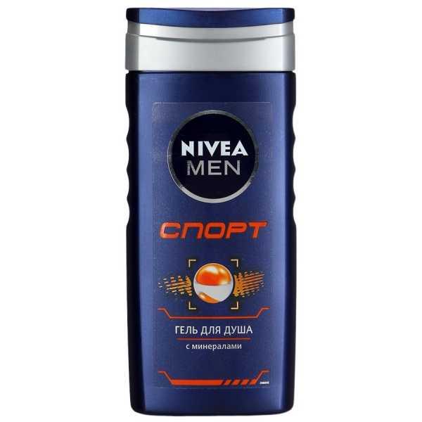 """Гель для душа Nivea Men """"Спорт"""" с минералами, 250 мл"""