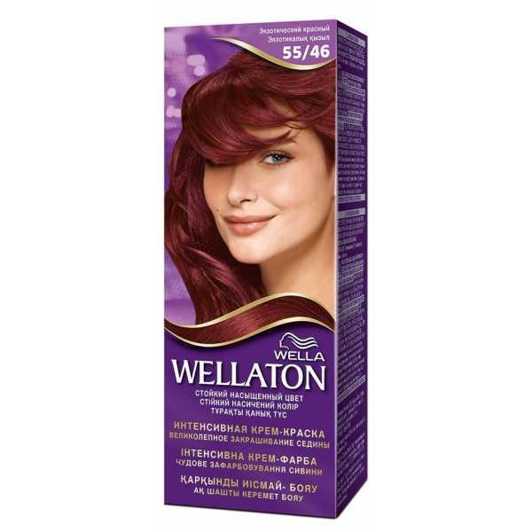 """Краска для волос Wellaton 55/46 """"Экзотический красный"""""""