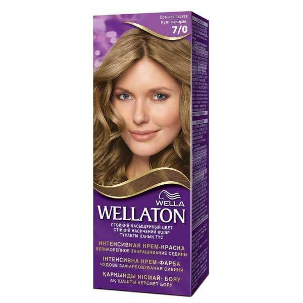 """Краска для волос Wellaton 7/0 """"Осенняя листва"""""""