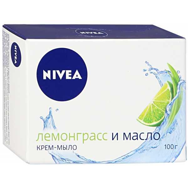 """Крем-мыло Nivea """"Лемонграсс и масло"""", 100 гр"""