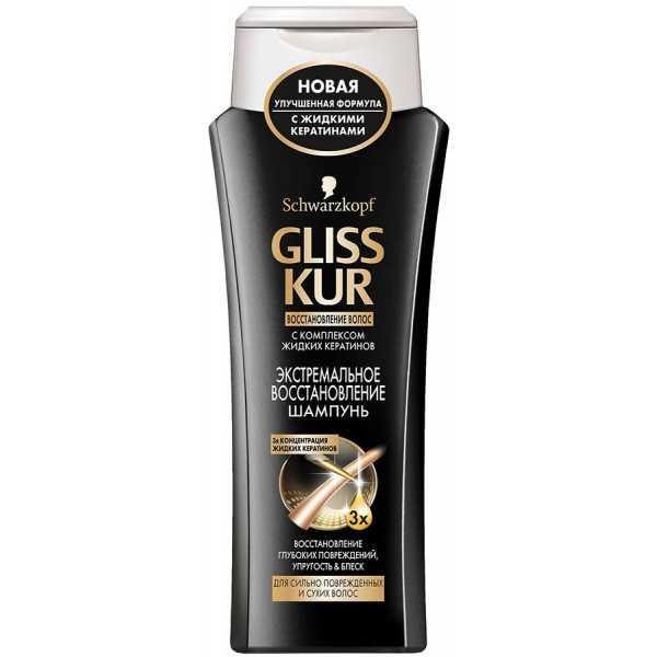 """Шампунь Gliss Kur """"Экстремальное восстановление"""" для сильно поврежденных и сухих волос, 250 мл"""