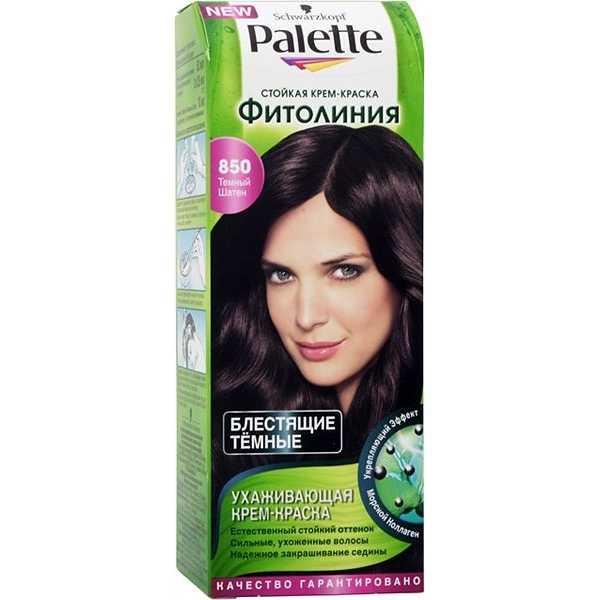 "Краска для волос Palette Фитолиния 850 ""Темный Шатен"", 50 мл"