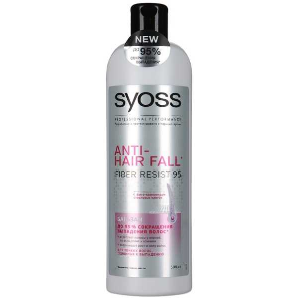 Бальзам Syoss Anti-hair fall, 500 мл