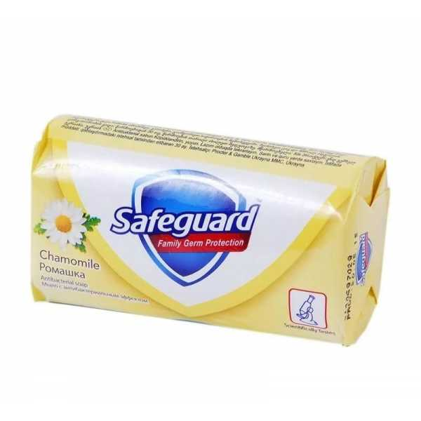 """Мыло туалетное Safeguard """"Ромашка"""", 90 гр"""