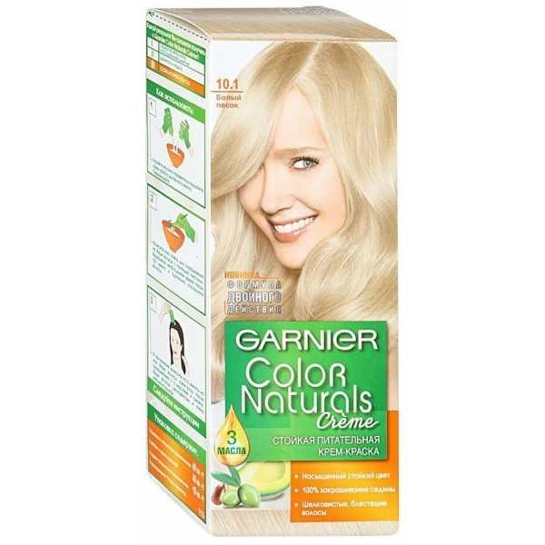 """Краска для волос Garnier Color Naturals 10.1  """"Белый песок"""""""