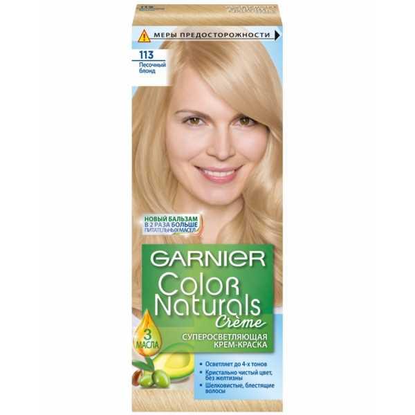 """Краска для волос Garnier Color Naturals 113 """"Песочный блонд"""""""